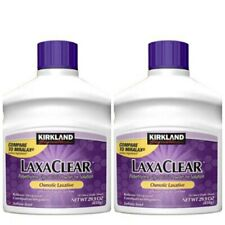 Kirkland Signature Miralax Laxative Constipation Stool Softener Laxaclear 2 Pack
