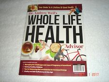 Dr.Andrew Weil's WHOLE LIFE HEALTH    BRAND NEW    Buy 1 get 1 Free