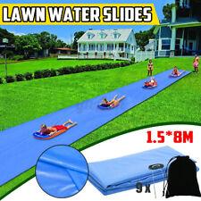 Children Water Slide Lawn Slide Water Raceway Summer Garden Outdoor Fun
