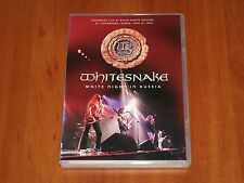 WHITESNAKE WHITE NIGHT IN RUSSIA 1994 LIVE DVD NEW Rainbow Def Leppard Europe