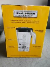 More details for hamilton beach summit blender container 6126-650