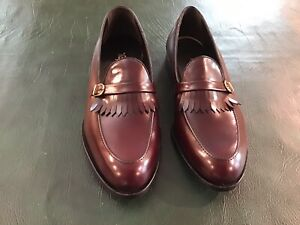Footjoy Kilty Loafers, Burgundy, 10.5 D, New
