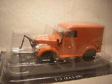 1/43 JEEP T3 Gaz 69 Chasse-neige 4X4 russe