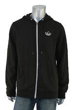 Adidas Originals Black Adicolor Hoody Track Jacket M New