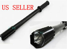 CREE Q5 LED spiked mace Baseball bat flashlight Security Camping light Torch
