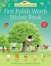 First Polish Sticker Book by Heather Amery (Paperback, 2008)
