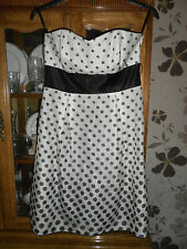 Ladies 100 Silk Dress Monsoon Size 12 060913