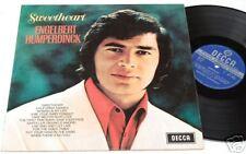 ENGELBERT HUMPERDINCK:LP-SWEETHEART-ORIG.UK DECCA UNBOX