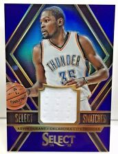 Kevin Durant 2014-15 Select Swatches PURPLE Refractor GU Jersey #'d/99 - THUNDER