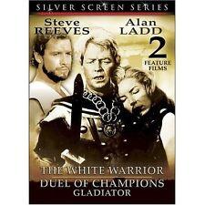 White Warrior/Duel of Champions (DVD, 2004, 2-Disc Set) Steve Reeves WORLD SHIP