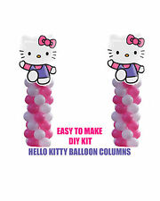 Hello Kitty BIRTHDAY COLUMN Balloons Decorations Cake Gift Table Shower