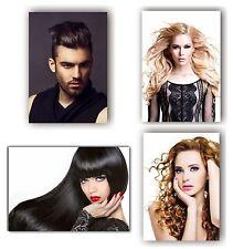 4 Poster Plakat Beauty Friseursalon Friseur A 3 Kosmetik Beauty man Mann