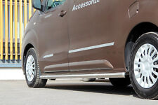 TOYOTA PROACE 2016- L2 PROTECTION, BARRE LATERALE INOX, DIAM 60MM, HOMOLOGUE
