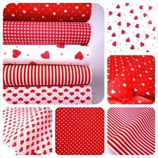 Quilting Fat Quarters, Bundles Poplin Unbranded Fabric