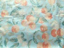 Vintage 1980's Laura Ashley Cotton Chintz Interiors Fabric Apple 'Orchard'