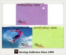 1995 Futera Australia HOT SURF Trading Cards Hot Gold Card HG6: Pam Burridge
