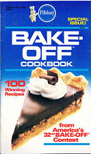 Pillsbury Classic Cookbook Bake Off 32nd Contest 1986 #62 93 Pages