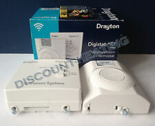 DRAYTON DIGISTAT WIRELESS RECEIVER + RF ROOM THERMOSTAT RF601