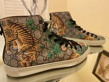 Gucci Bengal Canvas High Top Sneaker