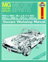 MG Midget & Austin-Healey Sprite 1958 - 1980 Haynes Manual 0265 NEW