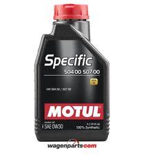 Aceite Motul Specific Volkswagen Audi Skoda SEAT 50400 50700 0w30 1 litro