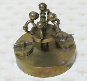 Rare Crown / Snake 400 day anniversary Clock pendulum, Horolovar No.20 for parts