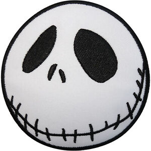 Jack Skellington Patch The Nightmare Before Christmas Iron Sew On Clothes Badge