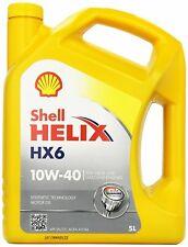 OLIO MOTORE SHELL HELIX HX6 10W40 BARATTOLO 5 LITRI