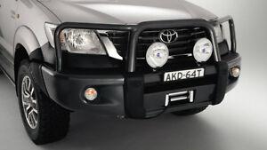 Toyota Hilux Genuine Steel Bull Bar SR5 flared July 2011 to oct 2013*