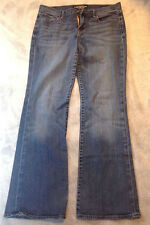 Lucky Brand M002 Women's Blue Jean Denim Pants Sweet N Low Factory Distress 29