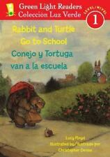 Rabbit and Turtle Go To School/Conejo y tortuga van a la escuela-ExLibrary