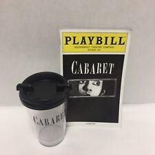 Cabaret Musical Playbill Alan Cumming Michelle Williams 2014 Souvenir Cup