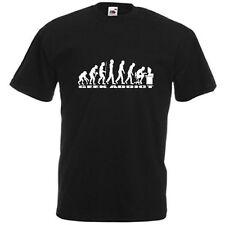 t-shirt geek Humour evolution of man computer addict