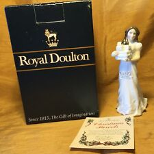 "1994 ROYAL DOULTON Hand Painted CHRISTMAS PARCELS 5.75"" Figurine HN 3493 + Box"