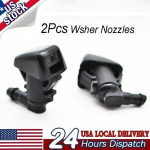 For Jeep Liberty 2008 2009 2010 2011 2012 2x Windshield Washer Nozzle Jet Spray
