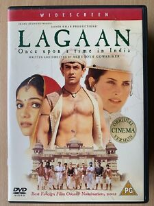 Lagaan DVD 2001 Once Upon A Time IN India Hindi Bollywood Film Drame