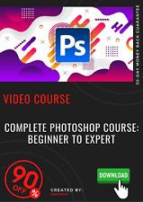 Complete Photoshop Course: Beginner to Expert video training course tutorial