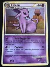 Carte Pokemon ESPEON 2/90 Holo HGSS ENGLISH NEUF