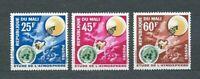 AFRIQUE MALI - 1963 YT 47 à 49 ESPACE - TIMBRES NEUFS** MNH LUXE