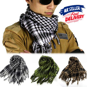 Neck Face Scarf Palestine Tactical Arab Army Shemagh Military KeffIyeh Mask