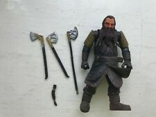 LORD OF THE RINGS GIMLI MARVEL ACTION FIGURE FELLOWSHIP SERIES TOY BIZ