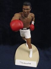Muhammad Ali (D 2016) Autographed 8.5 Inch Salvino Statue With White Trunks