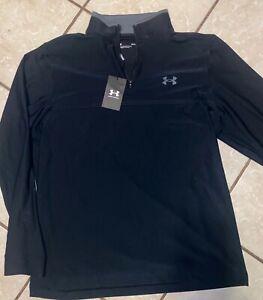 Under Armour Men's Playoff 2.0 Golf 1/4 Zip, Black, Medium, $75.00!!