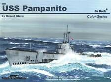 SQ 5604 SQUADRON SIGNAL USS PAMPANITO ON DECK COLOR