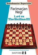 GM Repertoire 1.e4 vs The Sicilian III. By Negi. Hardcover. NEW CHESS BOOK