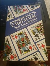 Annemann's Card Magic Paperback With 48 Illustrations by Nelson Hahne book