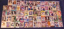 Fred McGriff 69 card lot All Different Baseball Bluejays Braves Free Shipping