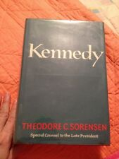 "'65 ""KENNEDY"" by TED SORENSEN 1st EDITION HCDJ"