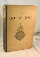 ART OF GOLF by W.G. Simpson 1892 Photography