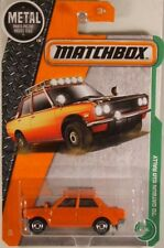 MATCHBOX #94 '70 Datsun 510 Rally Car - disc wheels, 2017 issue (NEW in BLISTER)